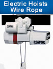 Electric Hoists - Wire Rope